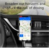 10W más recientes de coche Qi rápido montaje magnético soporte para teléfono cargador inalámbrico de coche