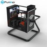 De hoogste Technologie de Machine Flight Simulator van Zhuoyuan van de Verkoop van het Spel van 720 van de Graad Vliegtuigen van de Arcade