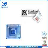 Благоприятный стикер ярлыка бирок 125kHz цены RFID