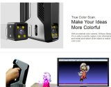 Precisão elevada de Mão LED branco Multifuncional Scanner 3D portátil
