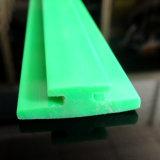 L'extrusion de plastique PE Profil en plastique vert