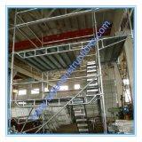 L'acier Layher Ringlock Échafaudages avec certification CE
