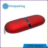 Disco instantâneo do USB do vagem de borracha (WS-A004)