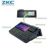 Zkc701 androïde tout en une position avec l'imprimante, NFC, 3G, WiFi, scanner de code barres