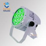 Weißer Fall Rasha 12*10W 4in1 RGBW Alumnium LED NENNWERT Licht IP65 wasserdichter im Freien LED NENNWERT kann