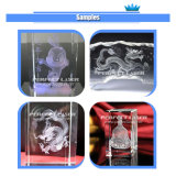 3D Photo Crystal La gravure au laser de la machine sur Hot Sale avec ce ISO de la FDA