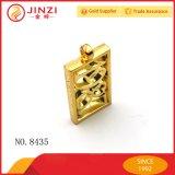 Tornar ôca a medalha para fora personalizada da placa de identificação do logotipo com cor do ouro para a decoração
