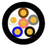 M8 6pin de Cirkel Waterdichte Schakelaar van de Vrouwelijke Schakelaar met Draden voor Sensor