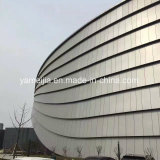 Rivestimento leggero della parete del metallo dell'installazione facile