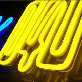 Signe au néon fait sur commande de vente chaud de décoration de lampes au néon de DEL