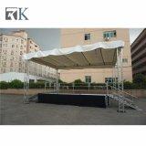 Fase di alluminio portatile di Rk con il tetto del fascio per l'evento esterno