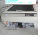 Небольшой блок печатной машины с помощью блока управления экспозицией и осушителя