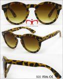Retro Plastiksonnenbrillen für Frauen (WSP705880)