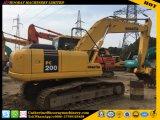 El 100% hizo en excavador usado Japón del excavador PC200-7 de la correa eslabonada de KOMATSU PC200-7