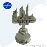 좋은 품질 주물 아연 합금 금속 기념품 선물 벨 (FTOT1503A)