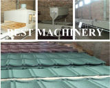기계 아스팔트 지붕널 기와를 형성하는 돌 입히는 기와 롤