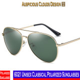 6021 óculos de sol polarizados clássicos unisex