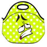 Cadre de déjeuner isolé thermique d'isolation de refroidisseur de Lunchbags de gosses de femmes de sac de déjeuner du néoprène