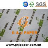 Tissu imprimé de liage de la conception du papier en feuilles