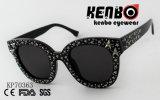 Cat Eye Lunettes de soleil avec de nombreuses stars sur le châssis PK70363