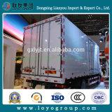 HOWO T5g 4*2 Transporte Logística Van camión de carga