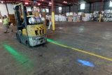 voyant bleu/rouge de 10W de flèche de faisceau de chariot élévateur d'alarme d'usine de la CE