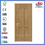 Porta moldada HDF/MDF natural do abanador da madeira contínua (JHK-SK04-2)