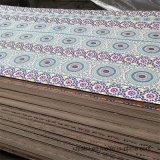 De estilo árabe 1220*2440mm Papel Madera contrachapada superpuesta, para los muebles de madera contrachapada comercial