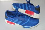 Chaussures de toile des enfants avec le haut bleu
