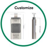 iPhoneのアンドロイドのための昇進のギフトOTG USB3.0のフラッシュ・メモリ駆動機構