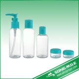 la bottiglia cosmetica di corsa di imballaggio 4PCS ha impostato nella capienza differente