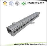 6.063 T5 LED de alumínio anodizado Perfil para Wallwasher