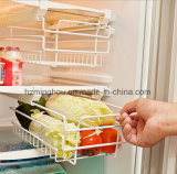Тип Retractable шкаф ящика хранения дефлектора холодильника бутылки пива вешалки