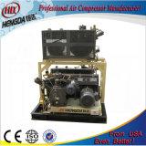 A media presión compresor de aire de pistón oscilante.