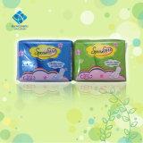 Material do algodão e tipo regular toalhas sanitárias da alta qualidade
