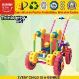 rompecabezas Jigsaw del coche educativo magnético plástico del juguete 2017 3D para los cabritos