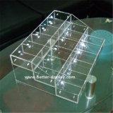 明確なプラスチックアクリルのティーバッグペーパー包装ボックス