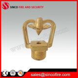 Material de cobre de Rociar la cabeza para protección contra incendios
