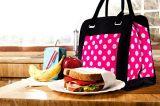 Le sac à lunch du Refroidisseur Refroidisseur isotherme lunch bag Rose pour les femmes Les femmes noires de l'alimentation de stockage avec des blocs de glace
