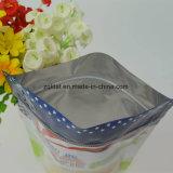 Levantar a embalagem de plástico bag para lanche, comida, comodidades para preparar chá e café