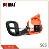 Scie à chaîne de l'essence de manière ergonomique avec poignée de frein de plus épais