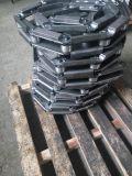 Paso de grandes cadenas de rodillos del transportador