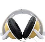 Écouteur pliable avec la marque faite sur commande et l'écouteur carré de studio d'écouteur de crics d'Earpads deux