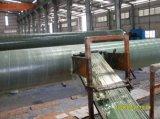 Máquina de bobinado del tubo de plástico reforzado con fibra de FRP continua/Cilindro del tubo de GRP Máquina de bobinado de filamento