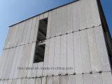 セメントのボードが付いているプレハブの構造スチールフレームの家屋の家