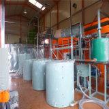 El reciclaje de aceite negro utiliza la destilación de plantas de reciclaje de aceite del motor de lubricación