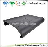 Perfil de alumínio personalizadas 6.063 para o dissipador de calor do radiador de equipamento de áudio do carro