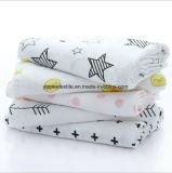 MOQ: 50pieces 의 주문 인쇄 신생 아기 모슬린 담요