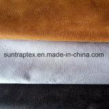 De bronzende Stof van het Suède van de Polyester voor Bank