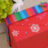 Новым коробка подарка картона рождества прибытия 2017 подгонянная способом бумажная